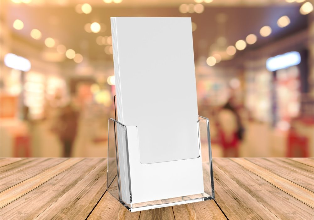 Brochure Stands At Your Home